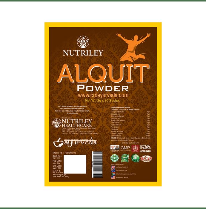 Nutriley CRD Ayurveda Alquit Alcohol Addiction Powder 2gm