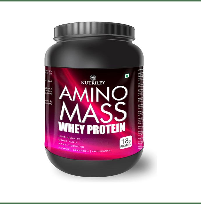 Nutriley Amino Mass Whey Protein American Ice Cream