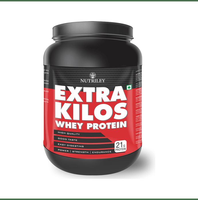 Nutriley Extra Kilos Whey Protein Powder Banana