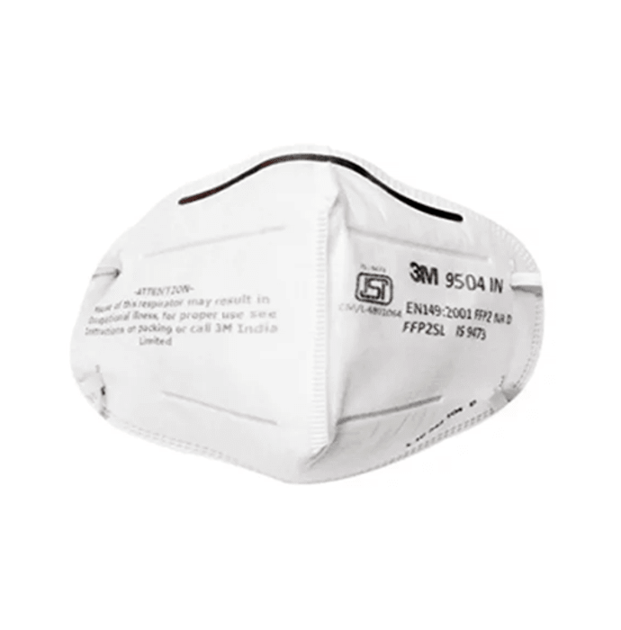 3M 9504IN Particulare Respirator Mask White Pack of 10