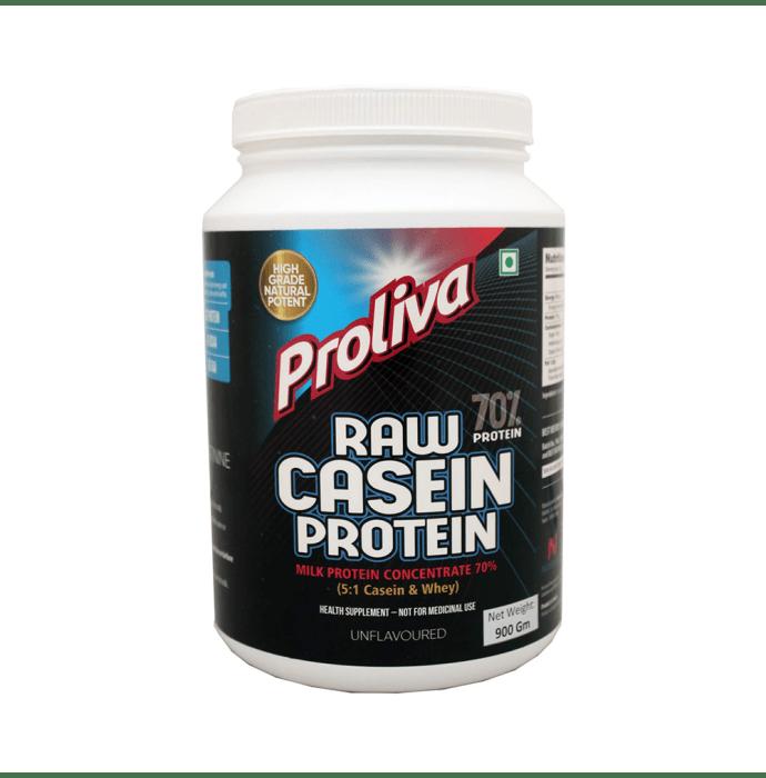 Nutrisattva Raw Casein Protein Powder Unflavoured