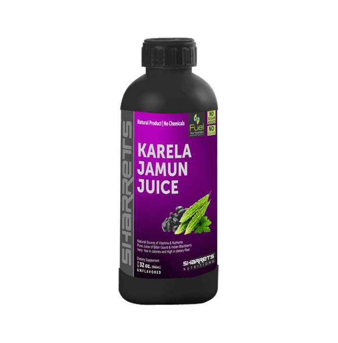 Sharrets Karela Jamun Juice Unflavoured