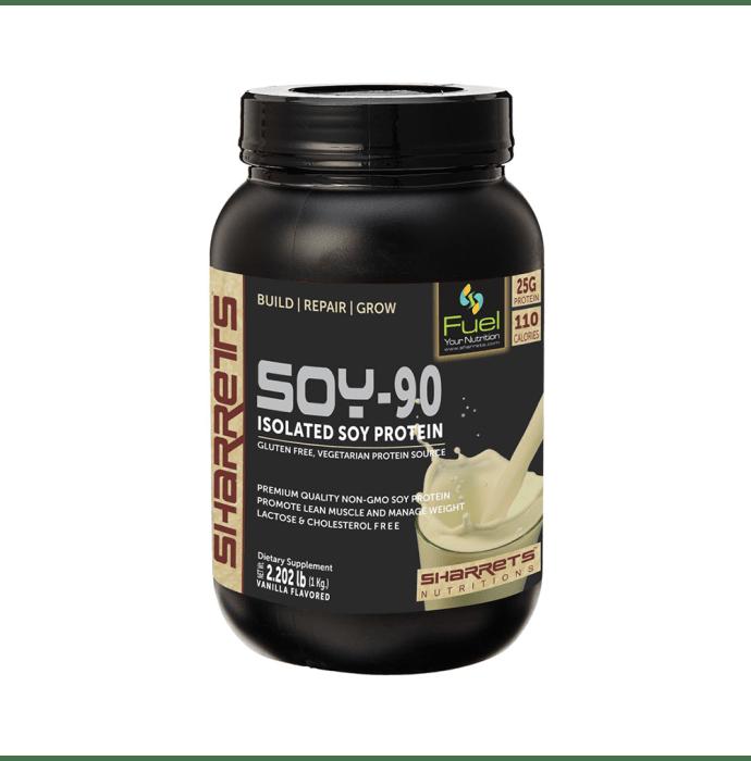 Sharrets Isolated Soy Protein 90% Powder Vanilla