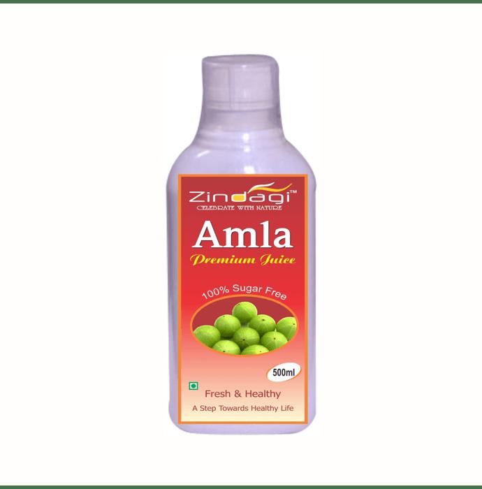 Zindagi 100% Sugarfree Amla Premium  Juice