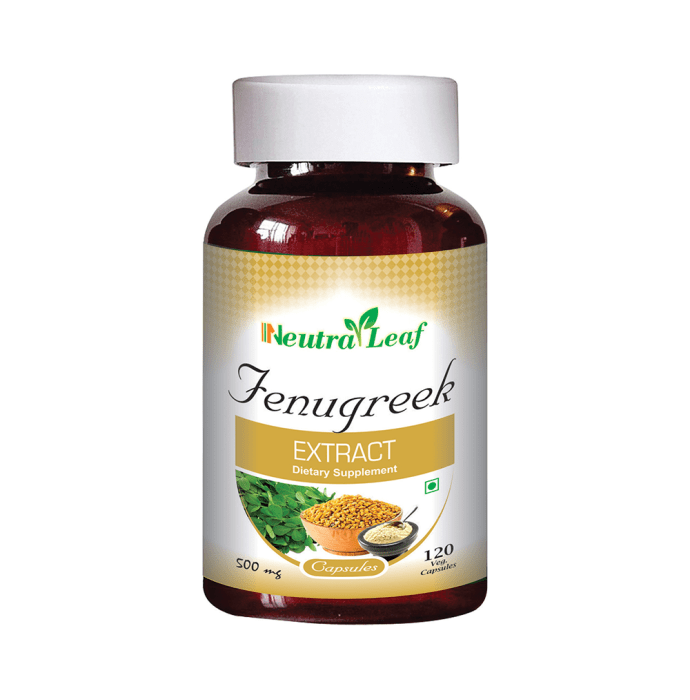 Neutra Leaf Fenugreek Extract 500mg Capsule