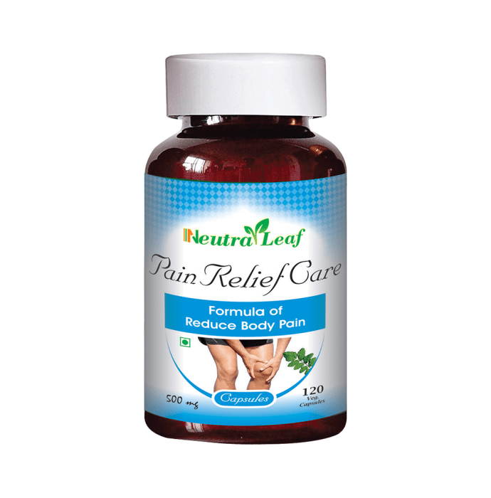 Neutra Leaf Pain Relief Care 500mg Capsule