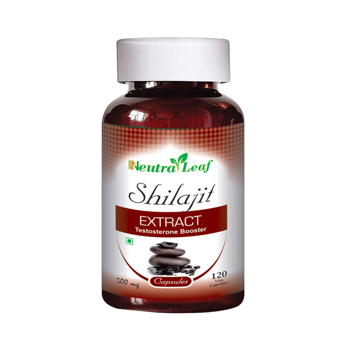 Neutra Leaf Shilajit Extract 500mg Capsule