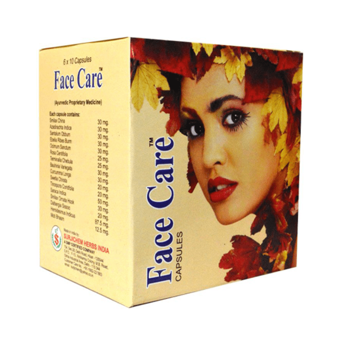 Surjichem Herbs Face Care Capsule