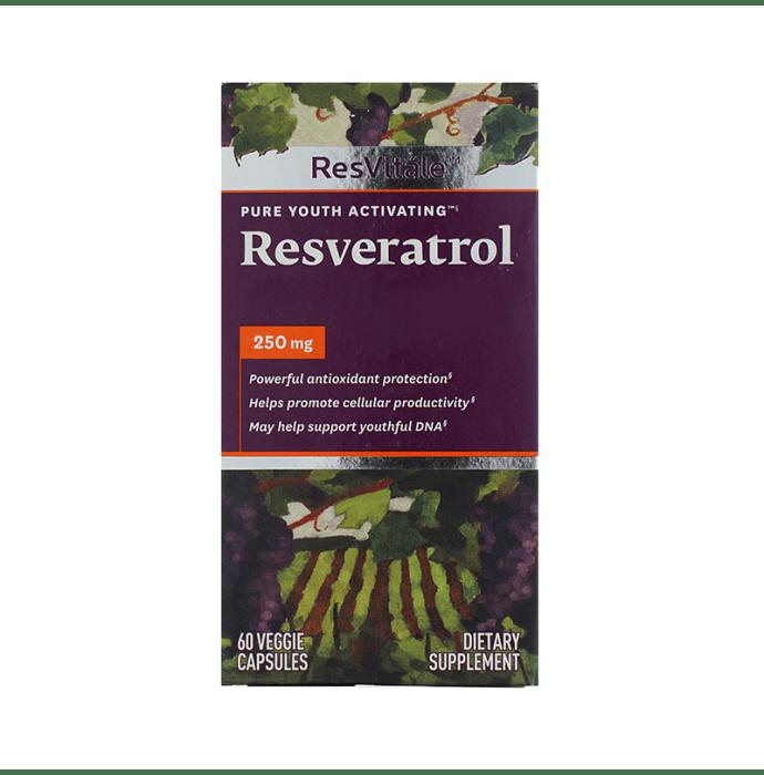 GNC ResVitale Resveratrol 250mg Capsule