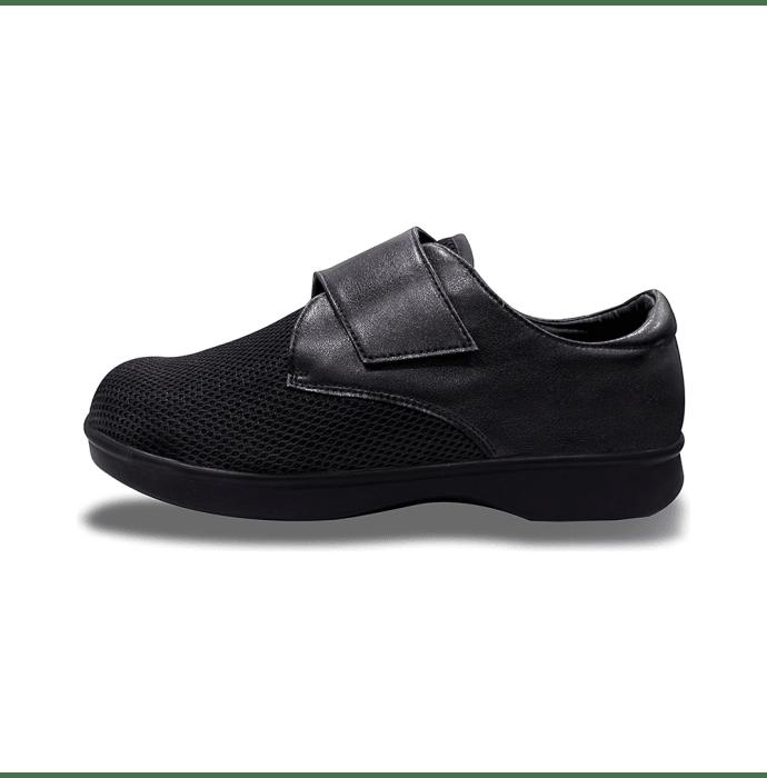 Shoegar SG-M-1990 Men's Formal Single Strap Diabetic Pair of shoes UK 9