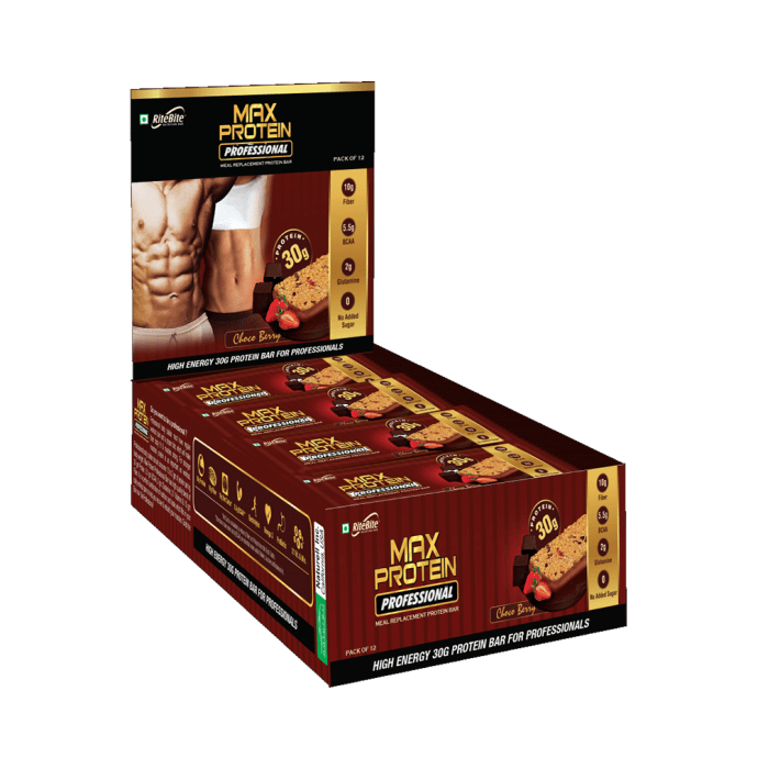RiteBite Max Protein Professional Bar 30gm Choco Berry