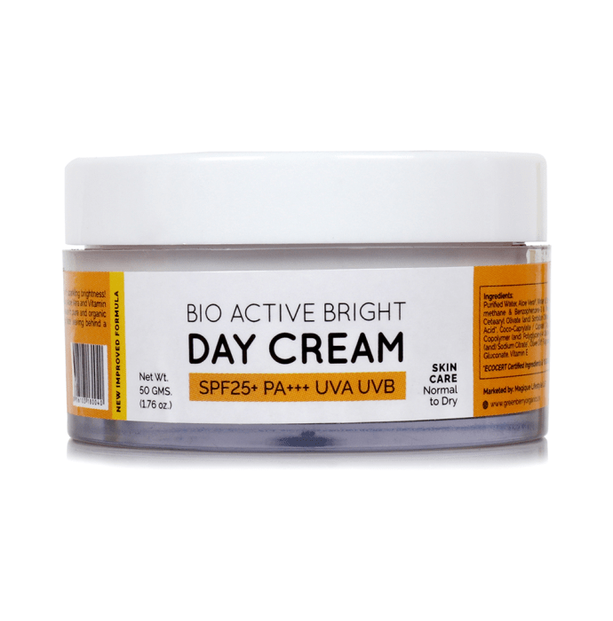 Greenberry Organics Bio-Active Bright Day Cream SPF 25+