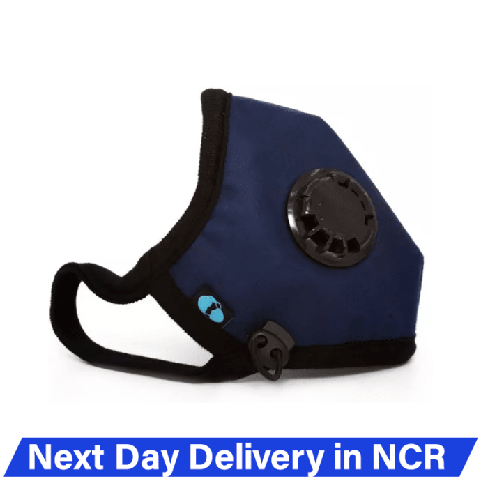 Atlanta Cambridge N95 Basic Anti Pollution Face Mask for PM 2.5, Virus and Bacteria Filtration L Navy