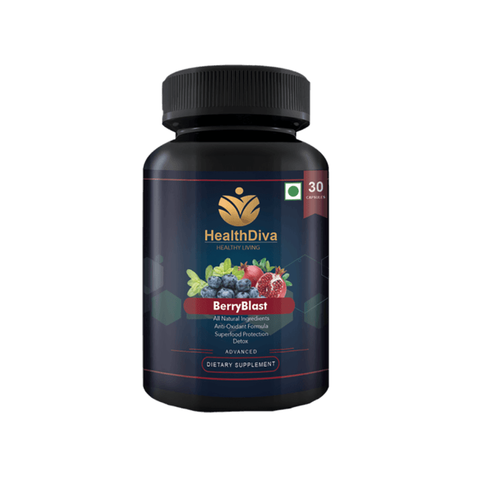HealthDiva BerryBlast Capsule
