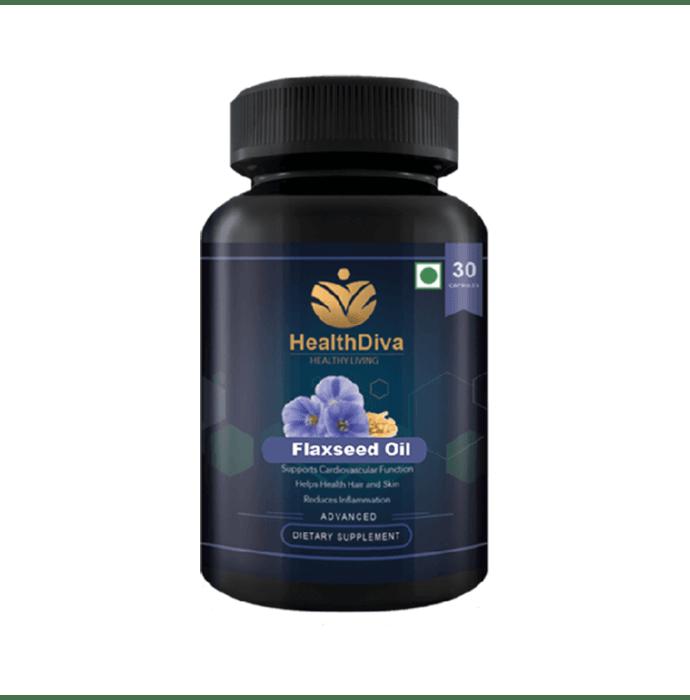 HealthDiva Flaxseed Capsule