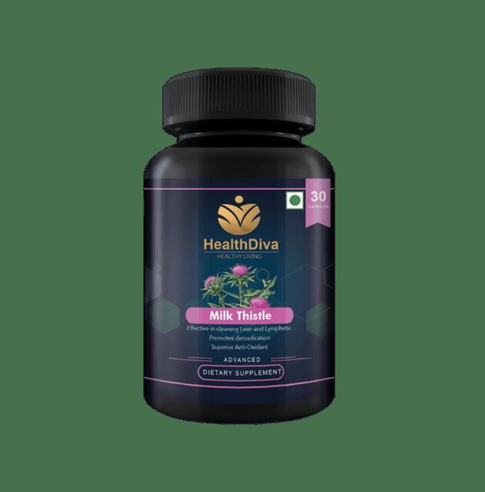 HealthDiva Milk Thistle Capsule