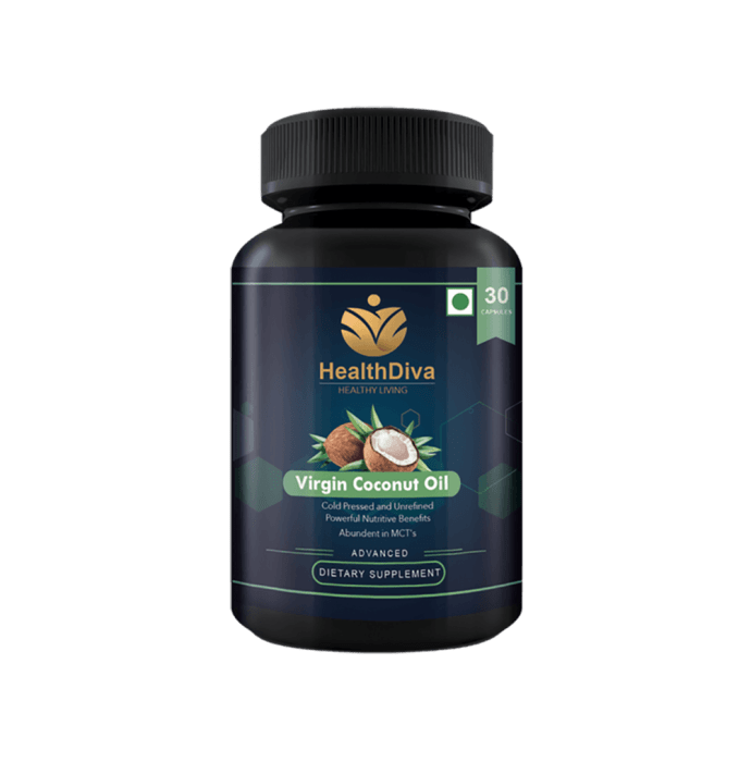 HealthDiva Virgin Coconut Capsule