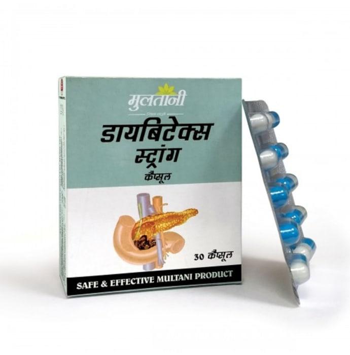 Multani Diabetex Strong Capsule