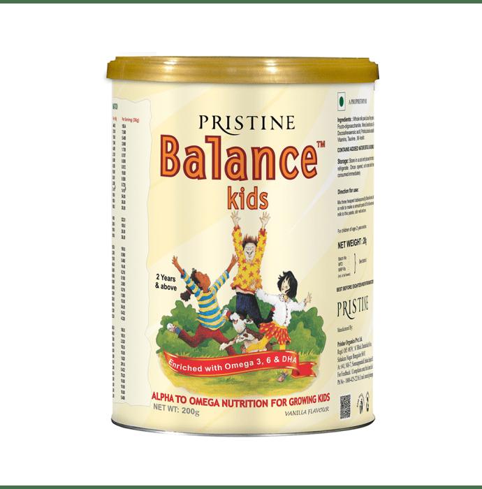 Pristine Balance Kids Powder Vanilla