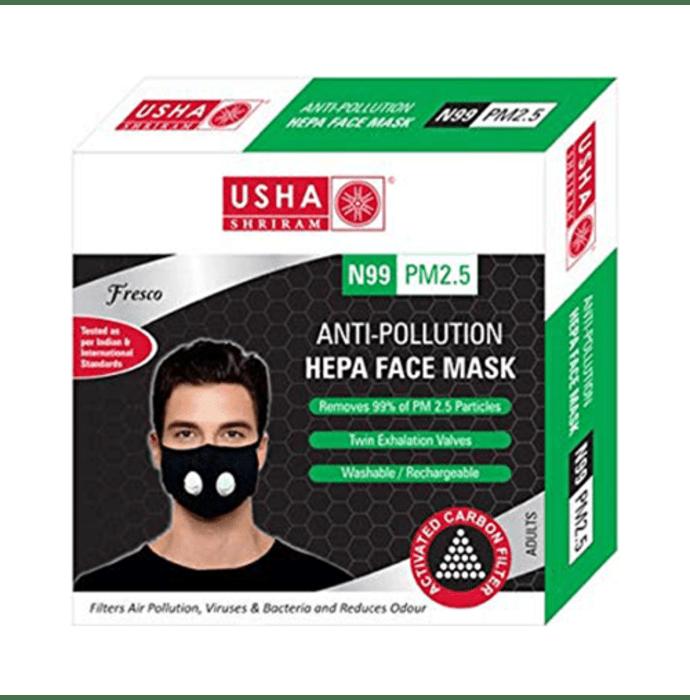 Usha Shriram Fresco N99 PM2.5 HEPA Anti Pollution Face Mask