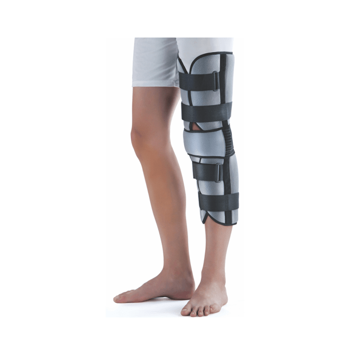 Dyna Innolife 1242 Knee Immobiliser L Grey