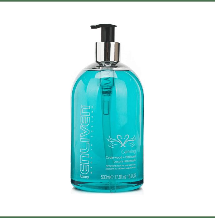 Enliven Luxury Handwash Calming Cedarwood and Patchouli
