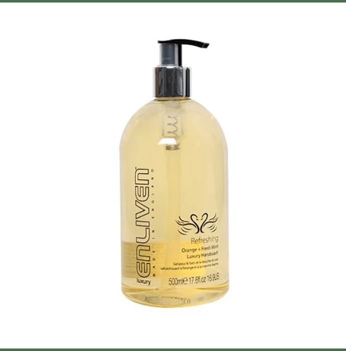 Enliven Luxury Handwash Refreshing Orange and Fresh Mint