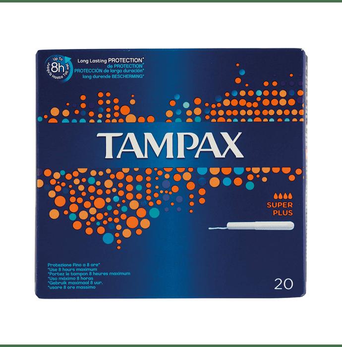 Tampax Tampons Super Plus Flow