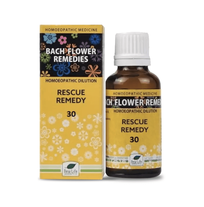 New Life Bach Flower Rescue Remedy 30