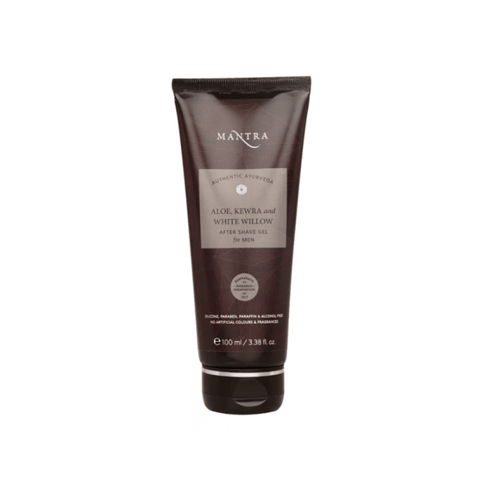 Mantra Aloe Kewra and White Willow After Shave Gel for Men