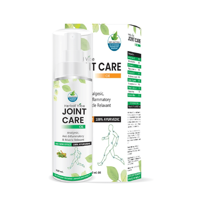 Herbal Vibe Joint Care Oil