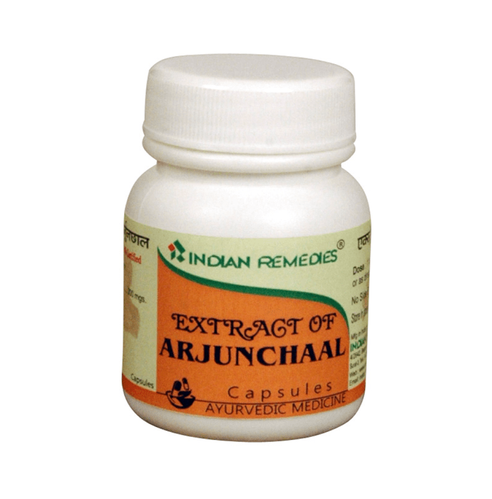 Indian Remedies Extract of Arjunchaal Capsule