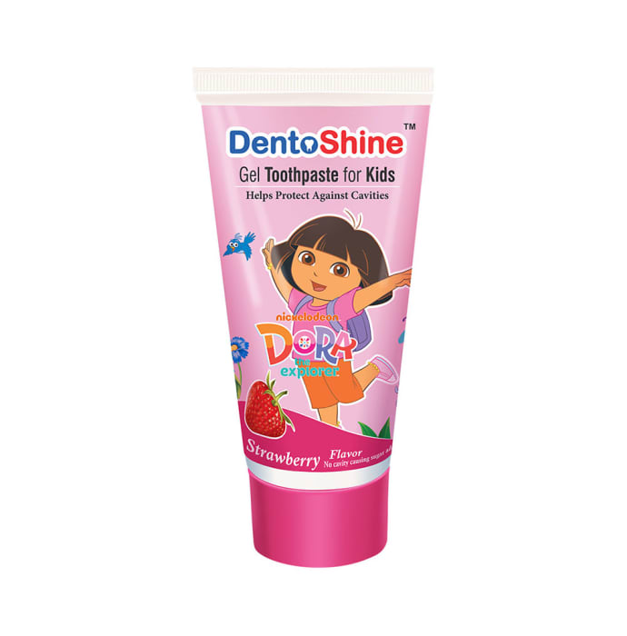 DentoShine Gel Toothpaste for Kids Strawberry Dora