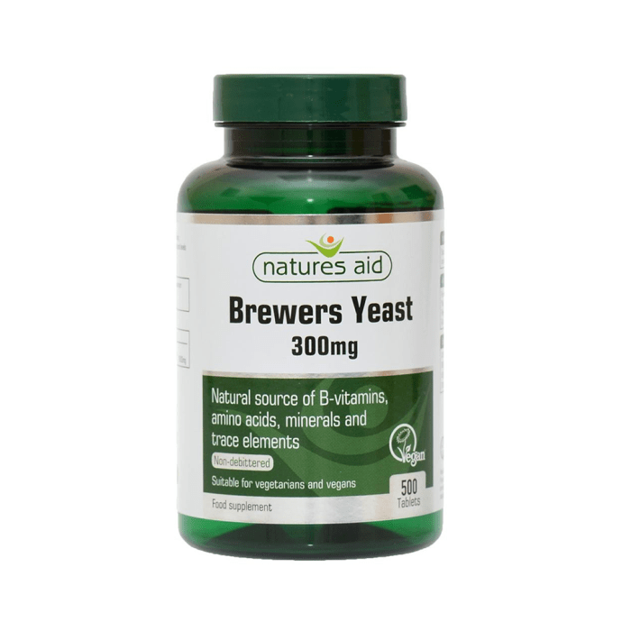Natures Aid Brewers Yeast 300 mg Tablet