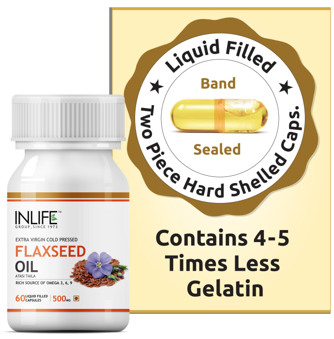 Inlife Flaxseed Oil Capsule