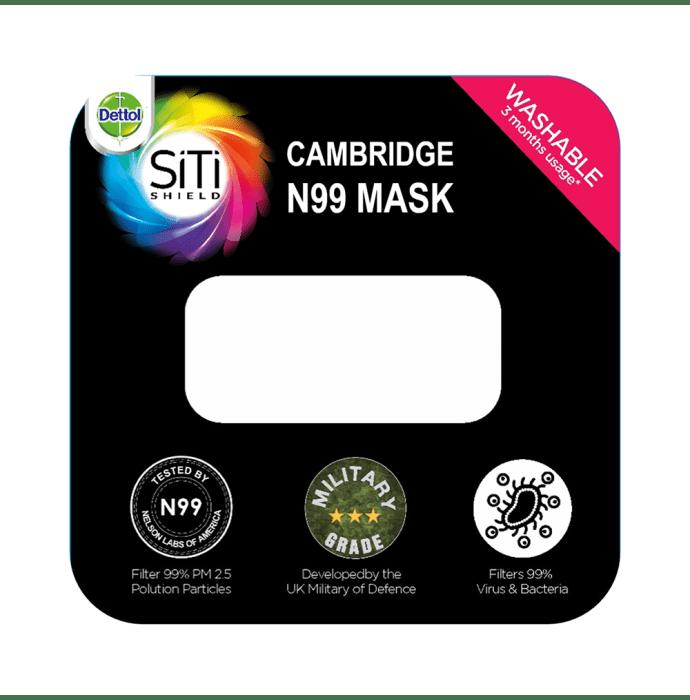 Dettol Cambridge Pro N99 Anti-Pollution Mask L Admiral