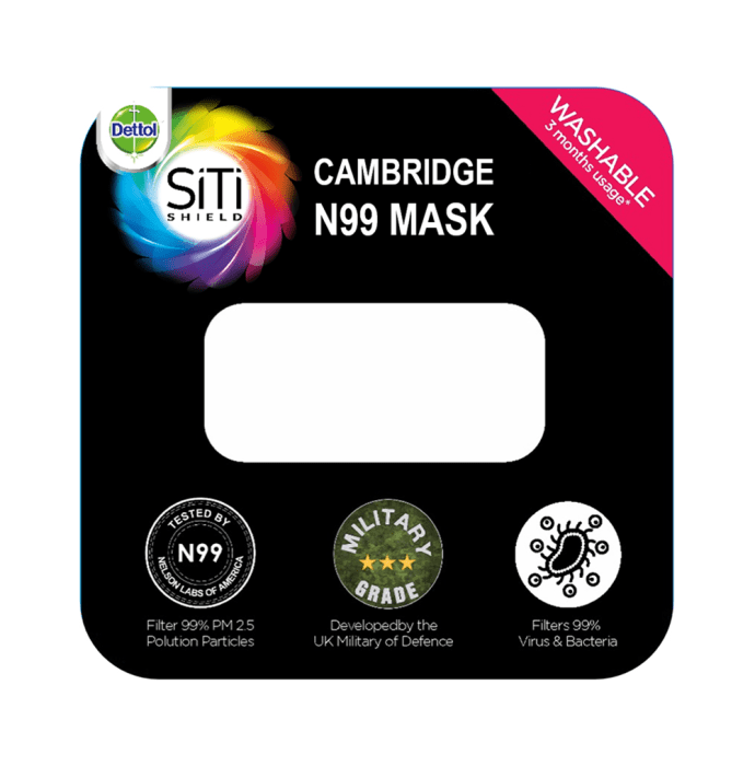 Dettol Cambridge Pro N99 Anti-Pollution Mask L Churchill