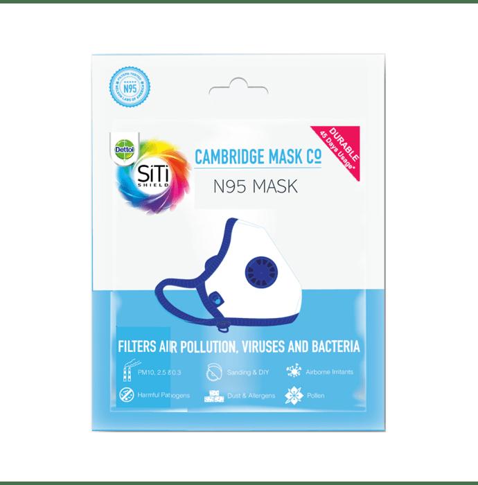 Dettol Cambridge Basic N95 Anti-pollution Mask L Black