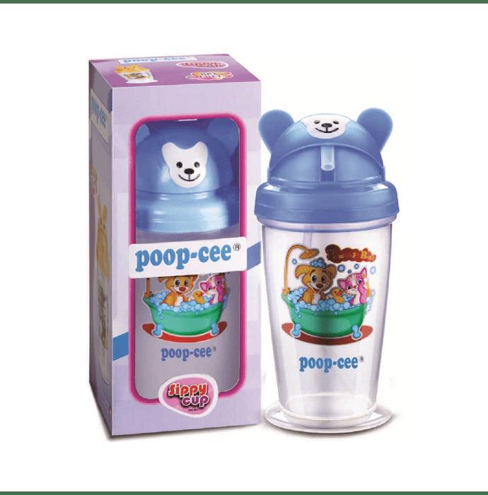 Poop Cee Sippy Cup Sipper Bottle