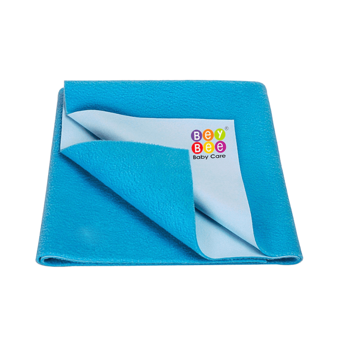 Bey Bee Waterproof Baby Bed Protector Dry Sheet for Toddlers (100cm X 70cm) M Firoza
