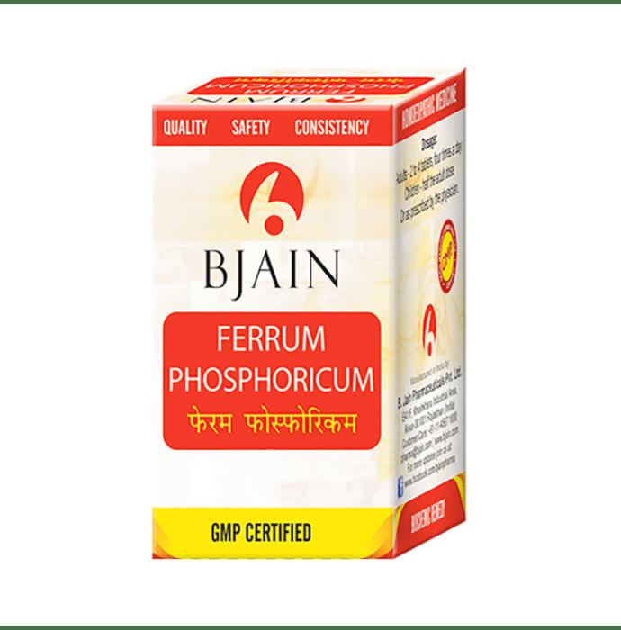 Bjain Ferrum Phosphoricum Biochemic Tablet 6X
