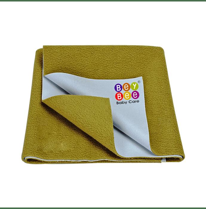 Bey Bee Waterproof Mattress Protector Dry Sheet For Babies and Adults (200cm X 140cm) Sheet XL Golden