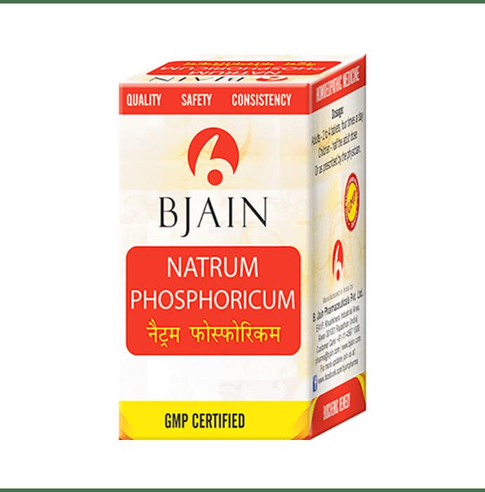 Bjain Natrum Phosphoricum Biochemic Tablet 30X