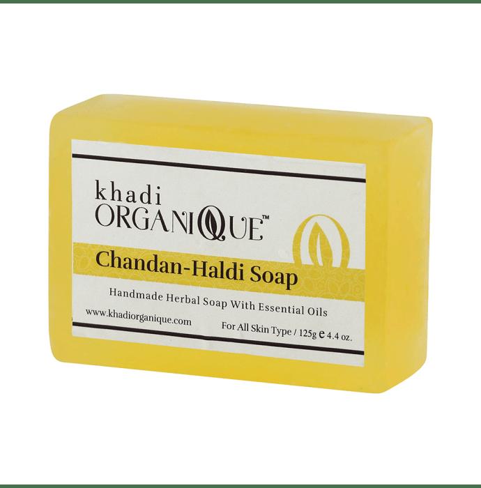 Khadi Organique Soap Haldi Chandan