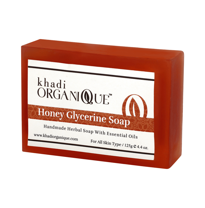 Khadi Organique Soap Honey Glycerin
