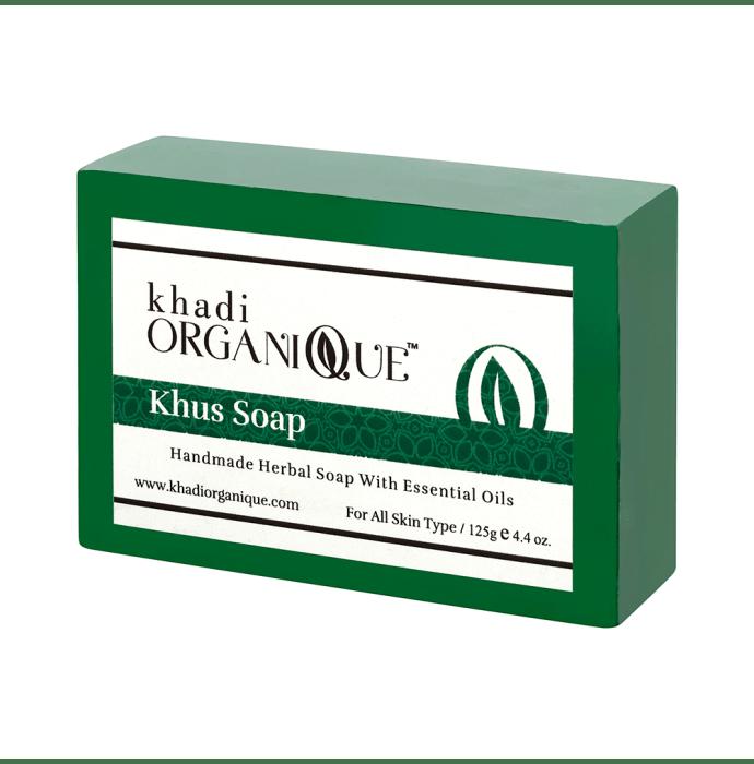 Khadi Organique Soap Khus