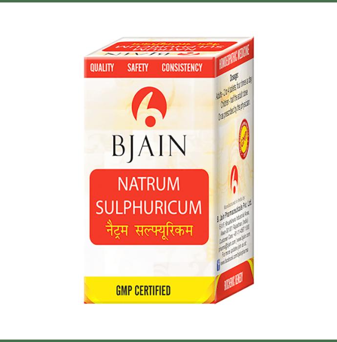 Bjain Natrum Sulphuricum Biochemic Tablet 12X