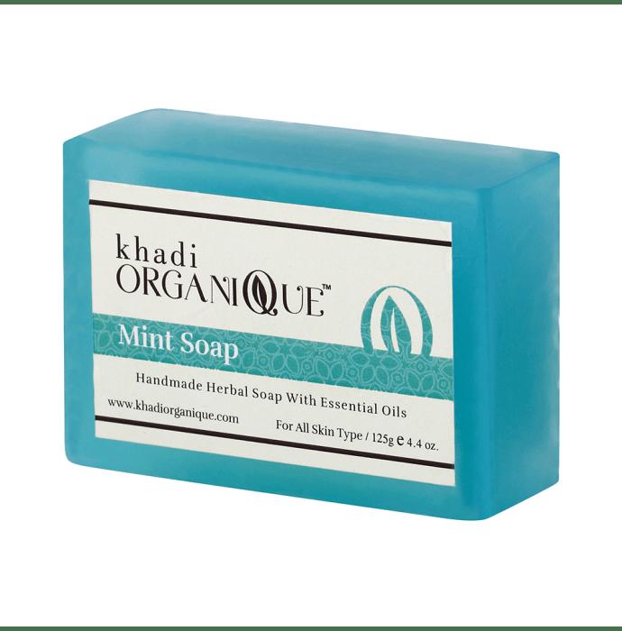 Khadi Organique Soap Mint