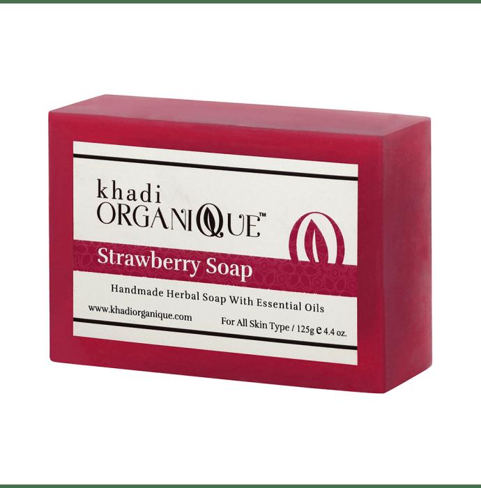 Khadi Organique Soap Strawberry Pack of 2