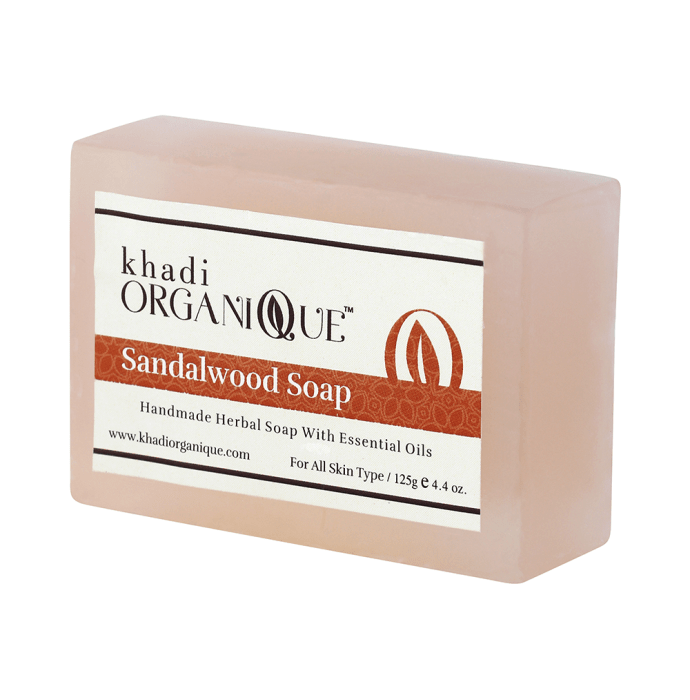 Khadi Organique Soap Sandalwood